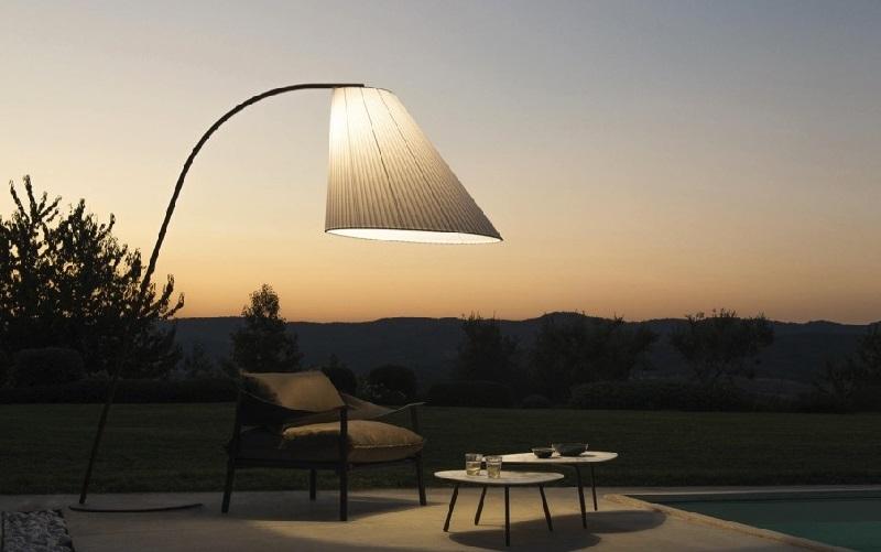 lampadaire extérieur